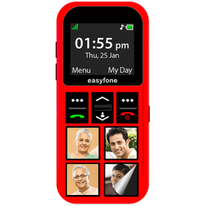 Get Pictures to personalise your easyfone Star.