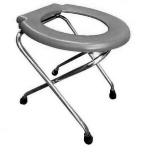 INDIAN CONVERSION COMMODE STAINLESS STEEL
